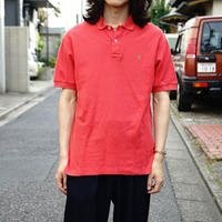 Yves Saint Laurent polo shirt red