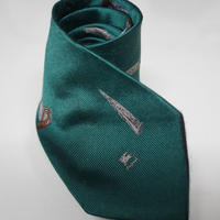 BURBERRY neck tie green