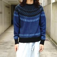 Captains Helm angra×silk wool knit