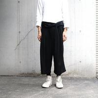 """未使用 attempt tack wide """"袴"""" pants"""