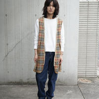 Burberry check liner coat