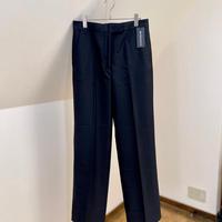 新品 ann demeulemeester 2020ss stripe trousers 42