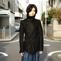 "sample ""変形"" short coat"
