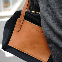 Jilsander leather shoulder bag