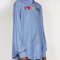 新品 balenciaga 2019ss over size shirt 39