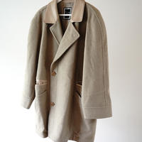 Christian Dior leather mink wool coat