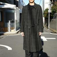 yohji yamamoto AAR check coat