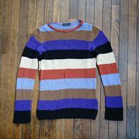 prada 2015aw multi color knit