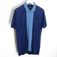 prada polo shirt blue