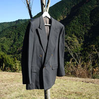 CELINE HOMME cashmere wool double jacket