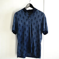 alexander mcqueen scull motifa polo shirt