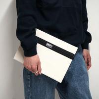 新品 MM6 Maison Margiela clutch bag white B