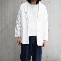 over size white jacket
