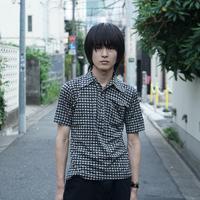 vintage polyester shirt♯1 ARBITER