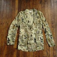 未使用 dries van noten camouflage jacket
