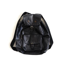jean paul gaultier pvc leather backpack