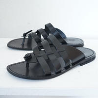 新品Made in Italy leather sandals 42