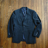 80-90s vintage check set up suit