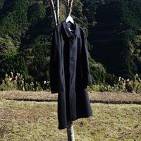 Aquascutum cashmere coat navy