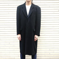 vintage cashmere×wool chesterfield coat
