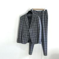 未使用 three piece set up suit