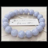 定番ブレス:ブルーレースアゲート10mmブレス ②