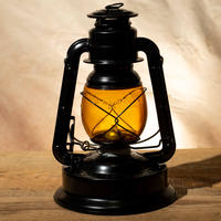 W.T.Kirkman Lanterns No.350 『Little Giant』Black Amber