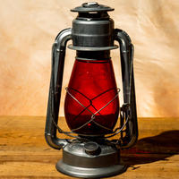 W.T.Kirkman Lanterns No. 1 『Little Champ』Silver RED Globe