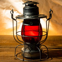 W.T.Kirkman Lanterns No.100 Watchman Railroad Lantern RED Grove
