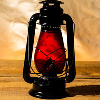 W.T.Kirkman Lanterns No. 1 『Little Champ』Black RED Globe