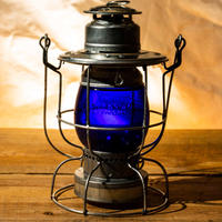 W.T.Kirkman Lanterns No.100 Watchman Railroad Lantern Blue Grove