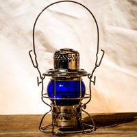 W.T.Kirkman Heritage No.999 Railroad Lantern Blue