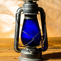 W.T.Kirkman Lanterns No. 1 『Little Champ』Silver BLUE Globe