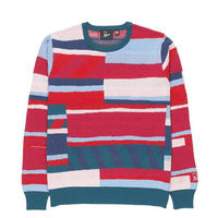 BY PARRA   -   KNITTED PULLOVER PREMIUM STRIPES