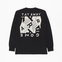 by Parra / LONG SLEEVE T-SHIRT STAY AWAY BE GONE