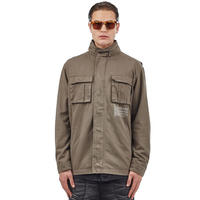 I LOVE UGLY / FATIGUE JACKET - ARMY GREEN