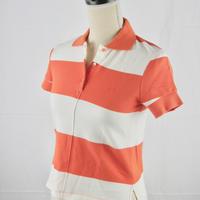 SEE BY CHLOE SbCロゴ入りボーダー ポロシャツ LT510