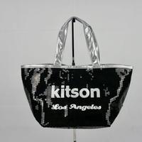 KITSON ミニ スパンコール トートバッグ B147