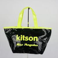 アウトレット品 KITSON ミニ スパンコール トートバッグ B144