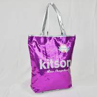KITSON  スパンコール トートバッグ B190