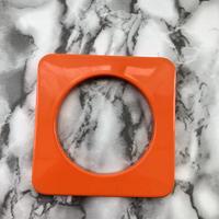 DSQUARED ディースクエアー ブレスレット オレンジ 個性的