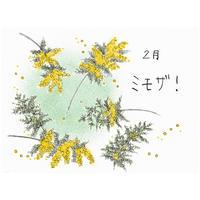 【オンラインフラワーレッスン】2021年2月 ミモザ!