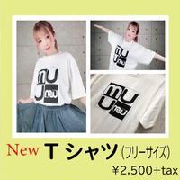 【新グッズ!】muu初めてのオリジナルT シャツ