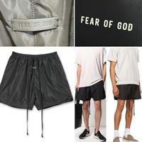 新品タグ付 Fear of God 7th フィアオブゴッド TRACK SHORT ハーフパンツ ショーツ M