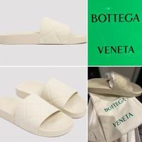新品★BOTTEGA VENETA ボッテガヴェネタ ザ・スライダー サンダル ラバーサンダル シャワーサンダル 42