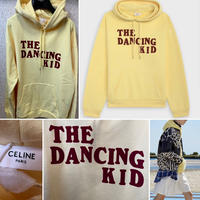 新品★21SS★CELINE Hedi Simane THE DANCING フロック フード付きルーズスウェットシャツ セリーヌ ブランドロゴ パーカー イエロー