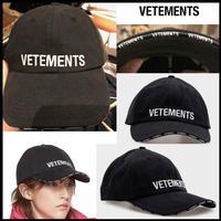 FW19新作★確実正規品★VETEMENTS ブランドロゴ キャップ 帽子 REEBOK