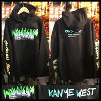 新品★Kanye West Wyoming カニエ・ウェスト ワイオミング・マーチャンダイズ 限定パーカー 2XLサイズ ブラック
