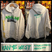 新品★Kanye West Wyoming カニエ・ウェスト ワイオミング・マーチャンダイズ 限定パーカー 2XLサイズ ホワイト