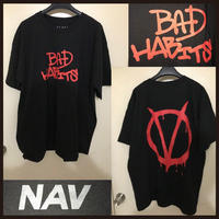 VLONE × NAV ヴィーロン × ナヴ コラボ ブラック Tシャツ
